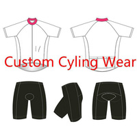 No MOQ Pro Customize Cycling Wear Free Design DIY Bicycle Bike Clothing High Quality Ropa Ciclismo