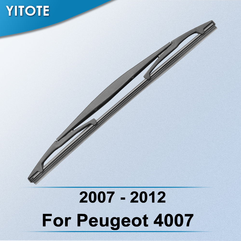 YITOTE Rear Wiper Blade for Peugeot <font><b>4007</b></font> 2007 2008 2009 2010 2011 2012 image