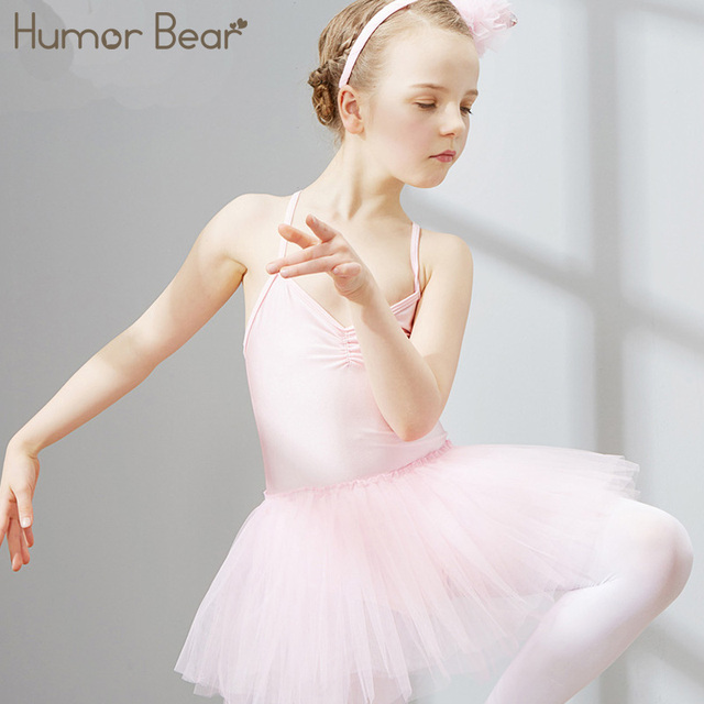 7426d2b86 Humor Bear 2018 New Kids Girls Sleeveless Gymnastic Ballet Leotard ...