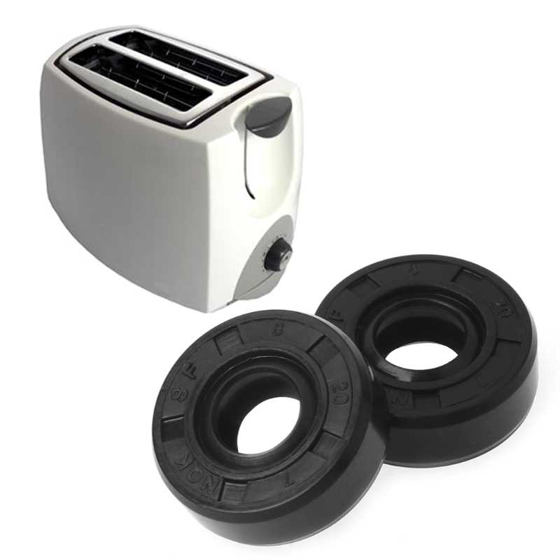 8x20x7mm Wearable Panificadoras Sorbet Liquidificador Máquina de Reparação de Peças De Vedação De Óleo Anel de Suporte Transporte Da Gota
