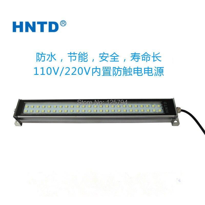 Hele verkoop kwaliteit TD 37 20 W 620mm lange 110 V/220 V LED metalen machine tool explosie proof verlichting Waterdichte CNC machine lamp - 2