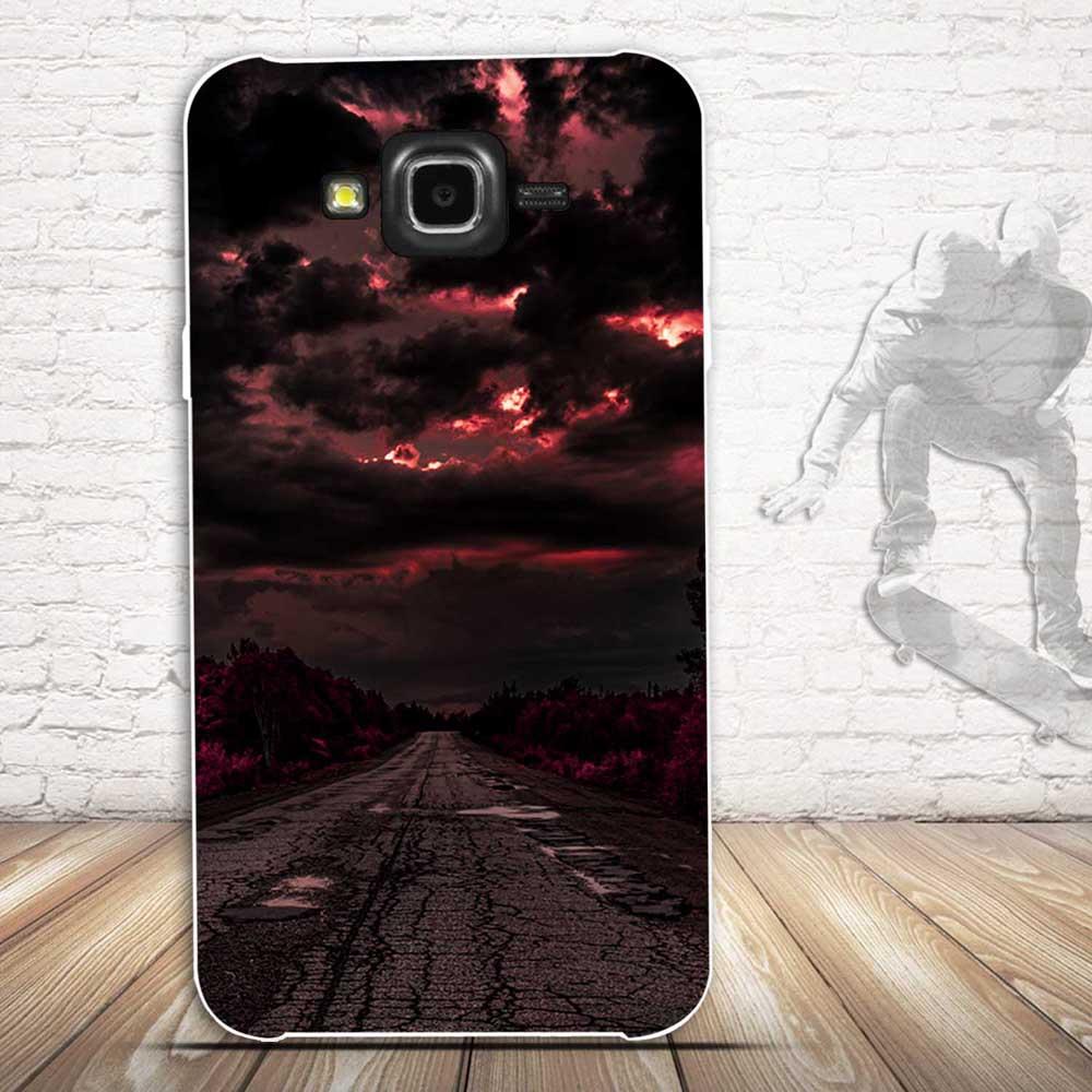 Samsung Galaxy J7 2015 Case- ի համար, 3D Relief Painting Soft - Բջջային հեռախոսի պարագաներ և պահեստամասեր - Լուսանկար 4
