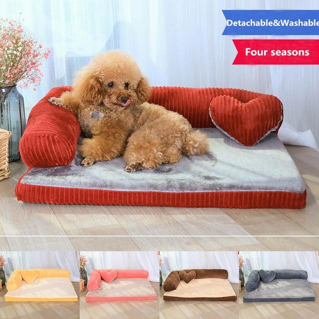 Di lusso di Grandi Dimensioni Del Cane Letto Divano Cane Gatto Pet Cuscino Per C