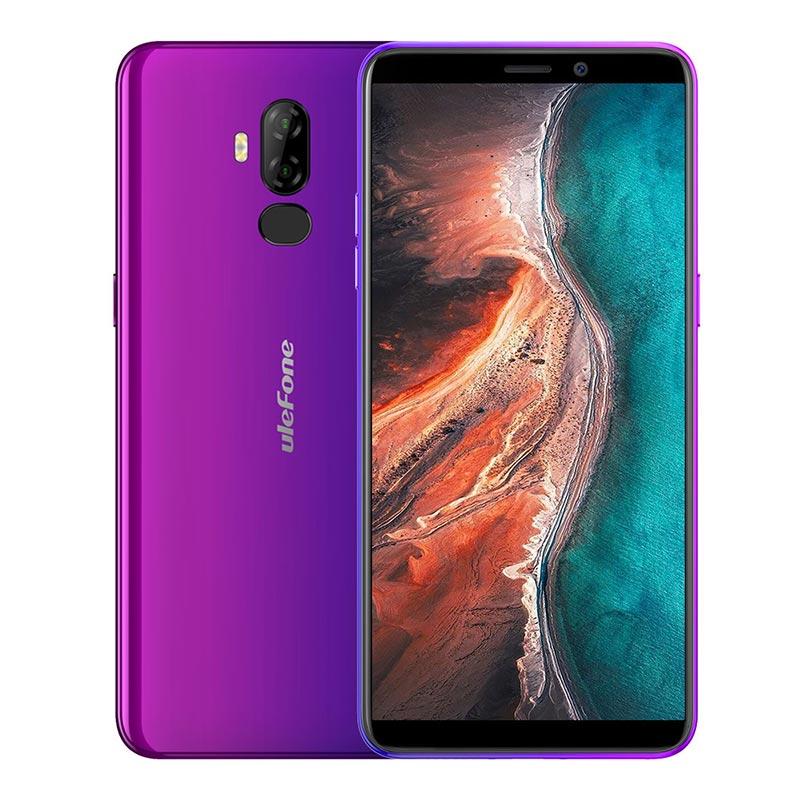 "Ulefone p6000 plus 6.0"" 18:9 HD+ SmartPhone MT6739 Ouad Core 3GB 32GB 6350mAh Fingerprint Face ID Android 9.0 4G Mbile Phone"