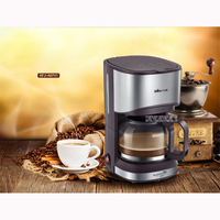 KFJ A07V1 220V/50Hz Fully Automatic Coffee Machine 550W Coffee Machine for American Coffee Machines food grade PP material 0.7L