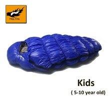 Спальный мешок для детей, спальный мешок ребенок, дети Пух спальный мешок зима Сверхлегкий детский спальный мешок