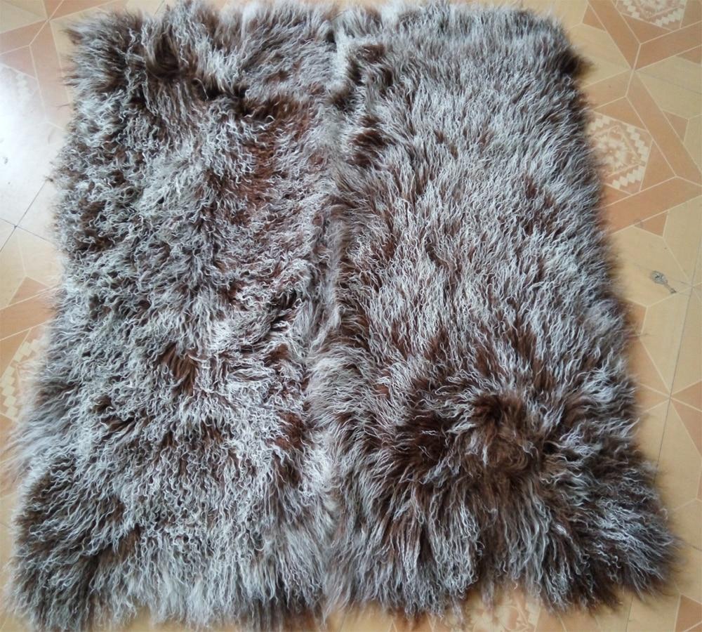 Aliexpress.com : Buy Frosted Mongolian Lamb Fur Blanket