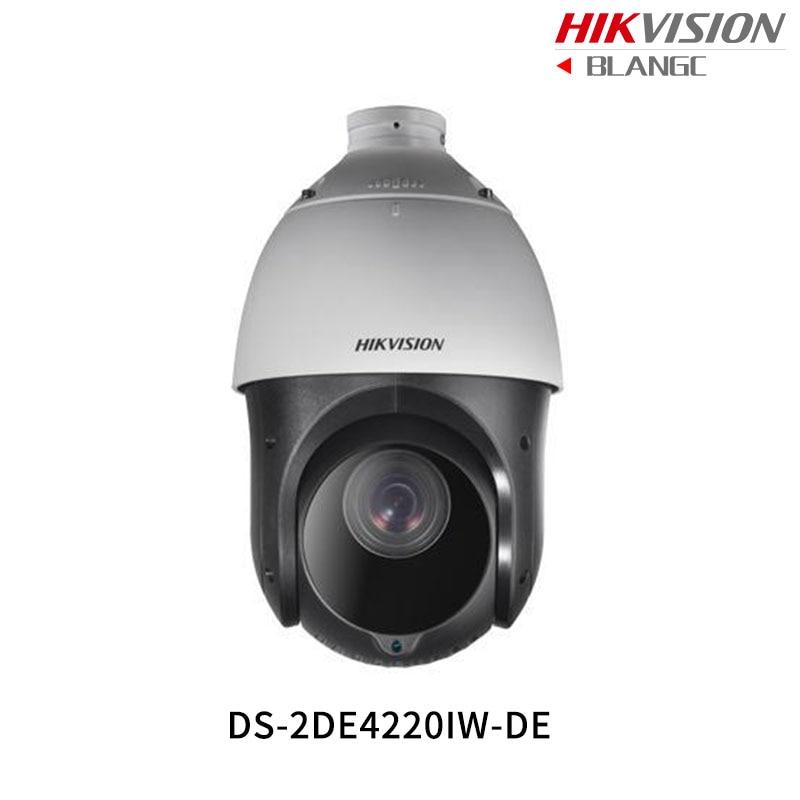 In Stock Hikvision Original English PTZ DS-2DE4220IW-DE 2MP 20x IR PTZ IP camera security Surveillance POE ONVIF CCTV Camera hikvision new english version ds p1420 1 3mp ptz cctv ip camera 4 7mm 94mm 20x zoom support ezviz cloud ip66 onvif upgrade