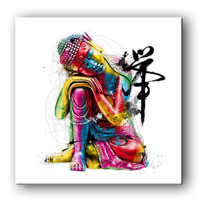 HD Buddha Canvas Art Print Painting Poster, Print Wall Pictures For Home Decoration,Wall Decor Wall Art 15101863