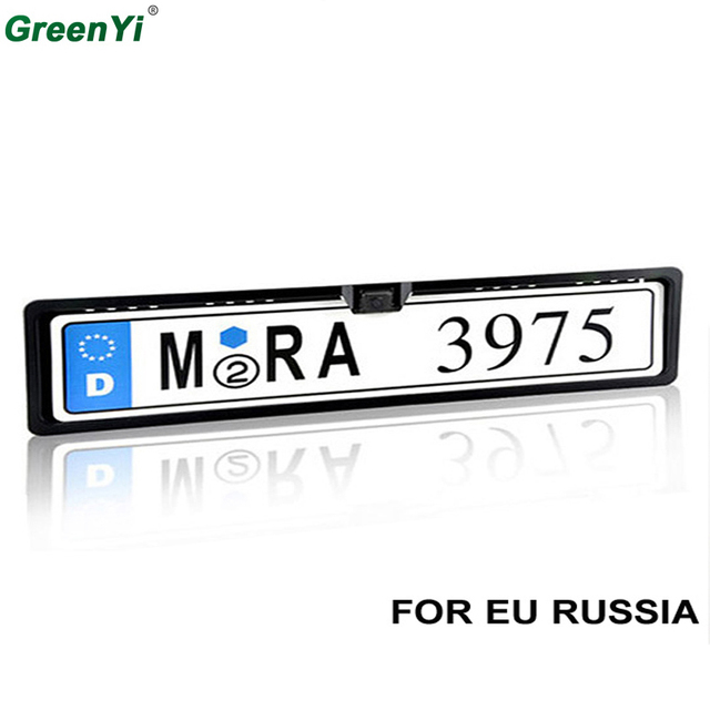 GreenYi E801 6PCS Wholesale Lowest Price Car License Plate Frame ...