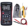 RM409B cyfrowy multimetr przycisk 9999 liczy z analogowy wykres słupkowy AC/DC amperomierz prądu Ohm Auto/instrukcja