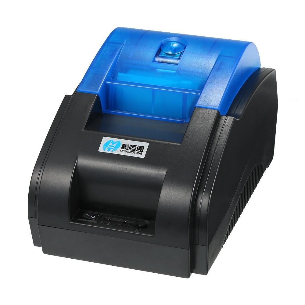 Ehrgeizig Hohe Bt Qualität Drucker Qr Code Aufkleber Barcode Thermische Kleber Kleidung Label Drucker 58mm Wirtschaftlich Label Barcode Drucker