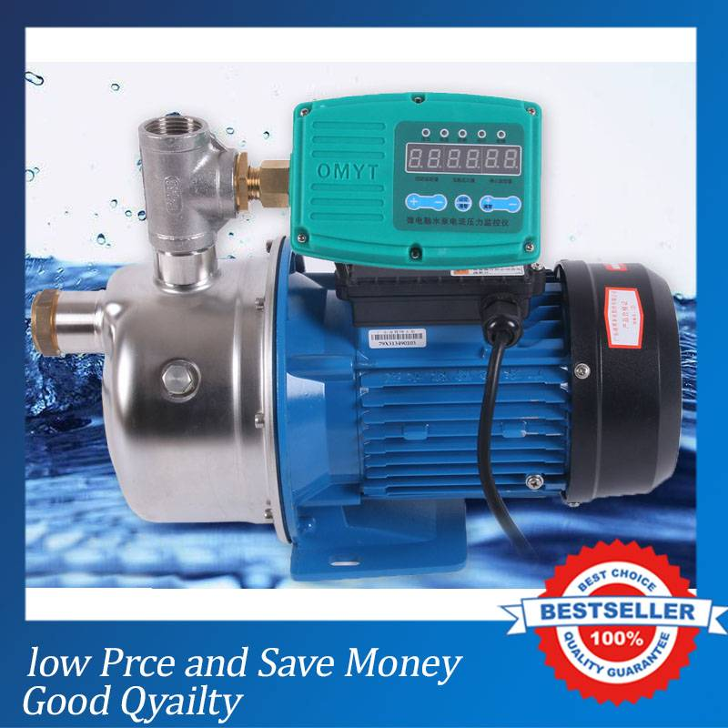 220V/50HZ Home Use Tap Water Pressure Booster Pump 370W Electric Centrifugal Pump BJZ037-B(10AType) 100w 220v shower booster water pump
