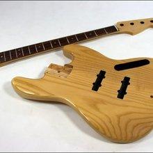 Старшая деревянная бас-гитара комплект пепельного тела Канадский кленовый гриф