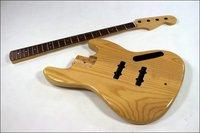 Senior Wood Bass Guitar Kit Ash Body Canadian Maple neck