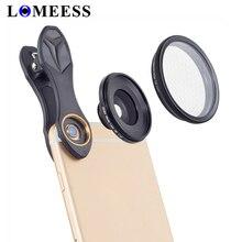 -Оптический Телефон объектив, 25 мм 20x Супер Макро объектив с Звезда фильтр мобильной фотографии ленте для iphone Samsung смартфон