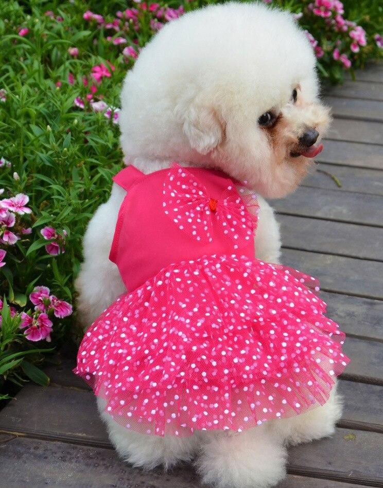 Lujo New Girl ropa para perros Dog Tutu para el partido ropa pequeño ...
