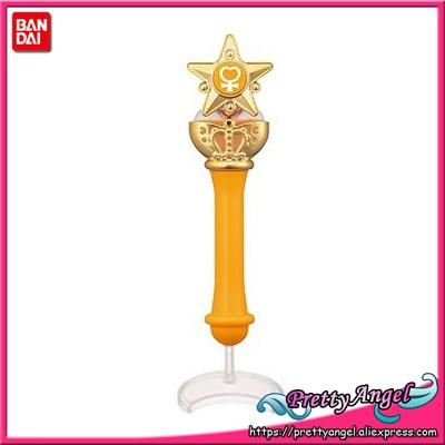 Original Bandai Sailor Moon Crystal 20th Anniversary Gashapon Sailor Moon Wand Charm Part 2 Henshin Rod & Stick - Sailor Venus original bandai shokugan sailor moon butterfly ribbon charm key chain sailor moon