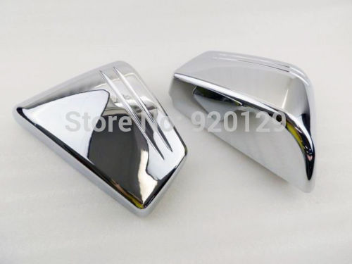 Chrome Fairing Motorcycle parts Battery Side Cover For Honda VTX 1800C VTX1800C Custom 2002 2003 2004 2006 2007 2008 aftermarket free shipping motorcycle parts eliminator tidy tail for 2006 2007 2008 fz6 fazer 2007 2008b lack