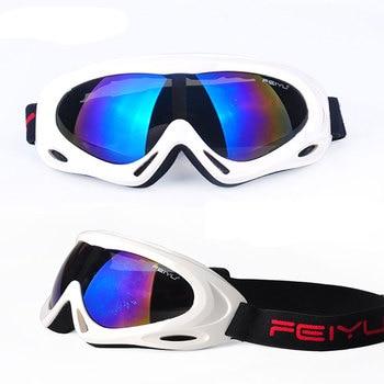 Men Women Snowboard Ski Goggles UV400 Anti-Fog Snowmobile Skate Eyewear Winter Windproof Mountain Skiing Sport Eyewear