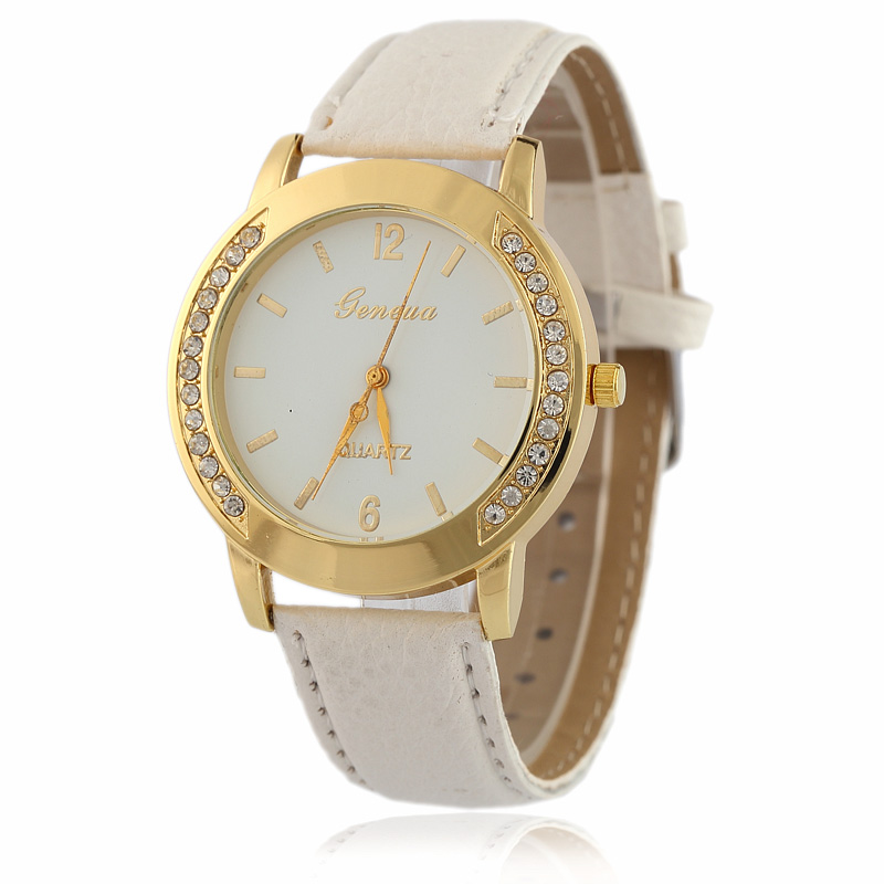 2017 Fashion Geneva Quartz Watch Women Wrist Watches ...