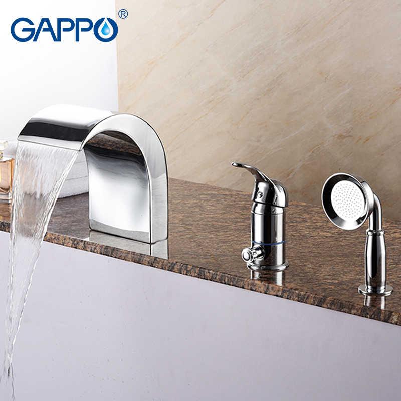 GAPPO ванна кран s для ванной смесителя Водопад смеситель Ванна Душ водопад ванной| |