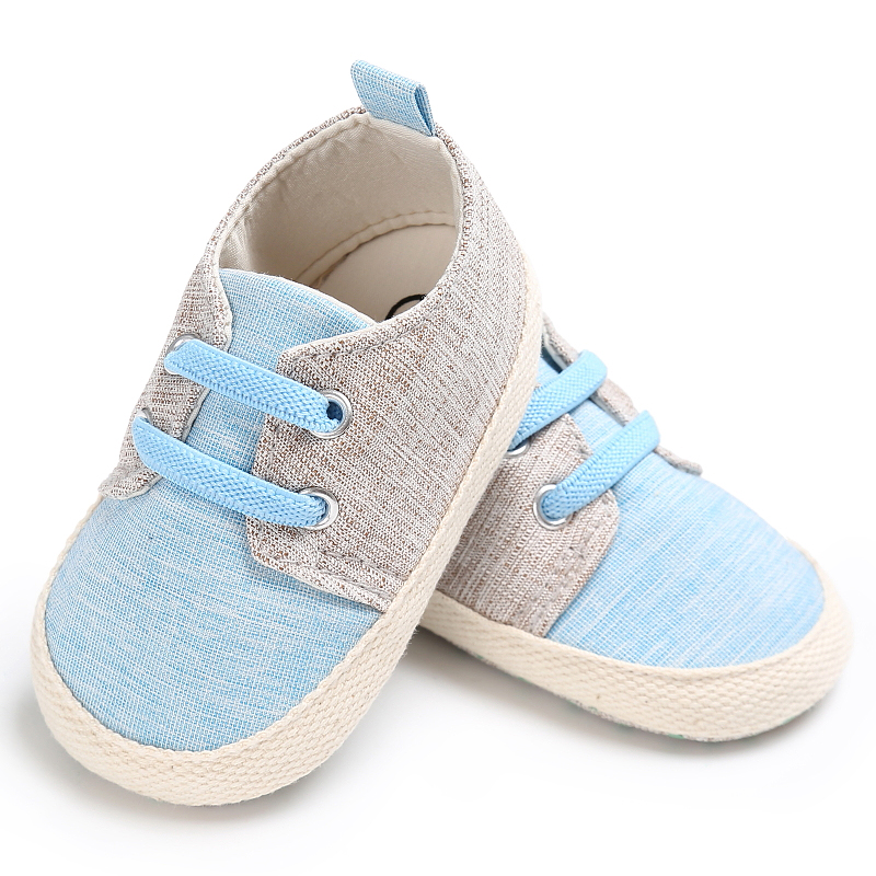 Brand Baby Boy Crib Shoes For Girls Elastic Band Newborn