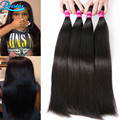 Peruvian Virgin Hair Straight Natural Black Straight Virgin Hair 4 Bundles Peruvian Straight Hair Cheap Human Hair Extensions