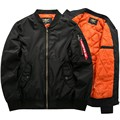 Autumn And Winter Thick Men's US NASA Air Force Military MA-1 Bomber Jackets Men Brand clothing Jackets Army Jacket and Coat 5XL
