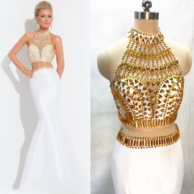 8c248c5ec8c Zweiteiler kleid lang weiss – Stilvolle Abendkleider in Deutschland ...