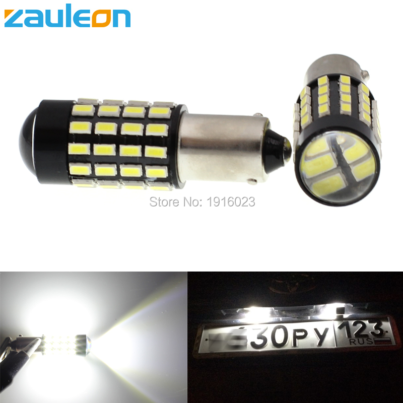 Zauleon 2pcs Super Bright BA9S BAX9S H6W LED White 560 lumens for Car DRL License Plate Interior Light car-styling cawanerl car canbus led package kit 2835 smd white interior dome map cargo license plate light for audi tt tts 8j 2007 2012