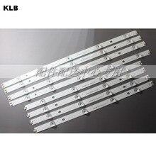 8 adet x LED Aydınlatmalı şerit lamba 9 leds LG 47 inç TV innotek DRT 3.0 LG47lb5610 6916L 1715A 1716A LG47LY340C LG47GB651C