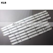 8 pz x Retroilluminazione A LED di Striscia Della Lampada 9-leds per LG 47 pollice TV innotek ypnl-DRT 3.0 LG 47lb5610 6916L 1715A 1716A LG 47LY340C LG 47GB651C