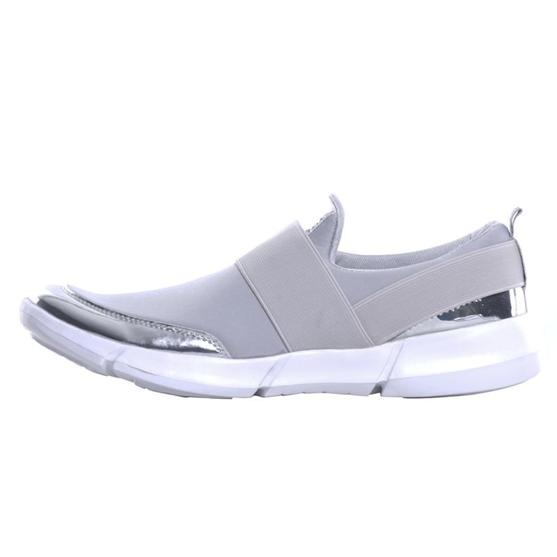 D'été 42 Mocassins 2018 Slip Taille Chaussures Xwc1276 grey On Hee Plat 35 Grand Femmes Femme Respirant Nouveaux Casual Black Appartements wXtPwSqxa