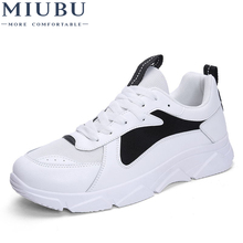 MIUBU Spring/Autumn Men Sneakers Breathable Mesh Casual Shoes Lace Up Comfortable Super Light Man Footwear Dropshipping