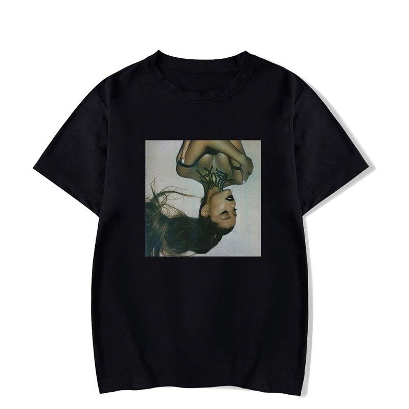 Ariana Grande Thank U Next Woman T Shirt Women/Men 2019 Summer Short Sleeves O-Neck T Shirts Hip Hop Harajuku Streetwear Tee Top
