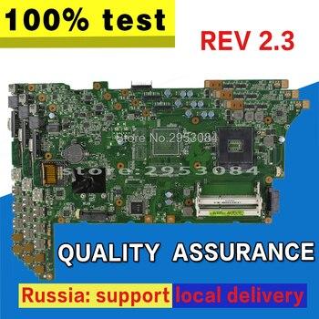 K73E Bo Mạch Chủ REV 2.3 HM65 USB2.0 Đối Với ASUS K73E X73E K73SD Máy Tính Xách Tay bo mạch chủ K73E Mainboard K73E Bo Mạch Chủ bài kiểm tra 100% OK