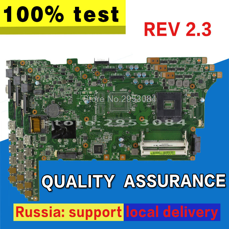 K73E Motherboard REV 2.3 HM65 USB2.0 For ASUS K73E X73E K73SD Laptop motherboard K73E Mainboard K73E Motherboard test 100% OK g73sw for asus motherboard rev2 0 hm65 4ram slots 3d connector 90r n3imb1000y mainboard full test