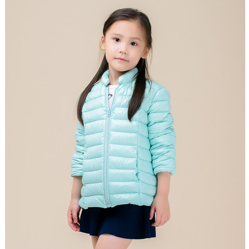 ФОТО 2016 Girl Jackets Coat Casual Coats Children Down Jacket Short Candy Colors NEW Autumn Winter High Quality Winter Coat Kids
