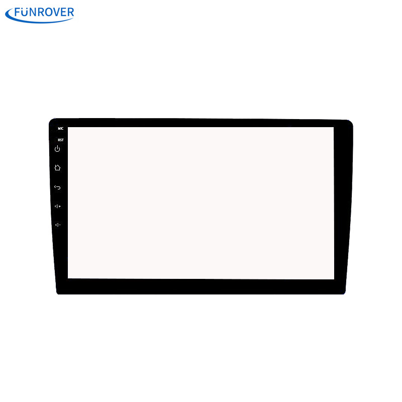 Funrover 10.1 inch Car Tempered Glass Protective Film Sticker for Radio stereo DVD GPS touch full LCD screen free shipping car tempered glass screen dvd gps lcd guard stereo multimedia protective film sticker for mitsubishi asx outlander lancer pajero