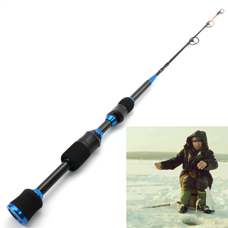 Lowest Profit Winter On Ice Fishing Rod 65cm 75g Carbon Heavy Ultrashort Spinning Rod Travel High Quality Fishing Tackle
