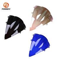 POSSBAY Пластик ветровое стекло мотоцикла Мото лобовое стекло дефлектор ветра, пригодный для Honda CBR600RR F5 2007 2008 2009 2010 2011 2012