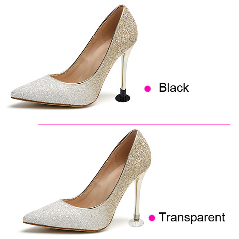 High Heel Protector Stopper Guard (Wide Large) 1 Pair Clear