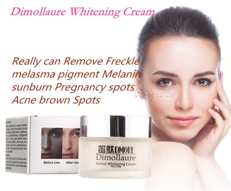 Dimollaure Crema blanqueadora de efecto fuerte 20 g Eliminar Freckle - Cuidado de la piel - foto 2