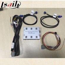 Câmera Reversa Universal Interface para AUDI A4 Q7 A6 A7 A8 Q3 A1 VW Tourage GOLF7 Lamando Tiguan com Estacionamento diretrizes