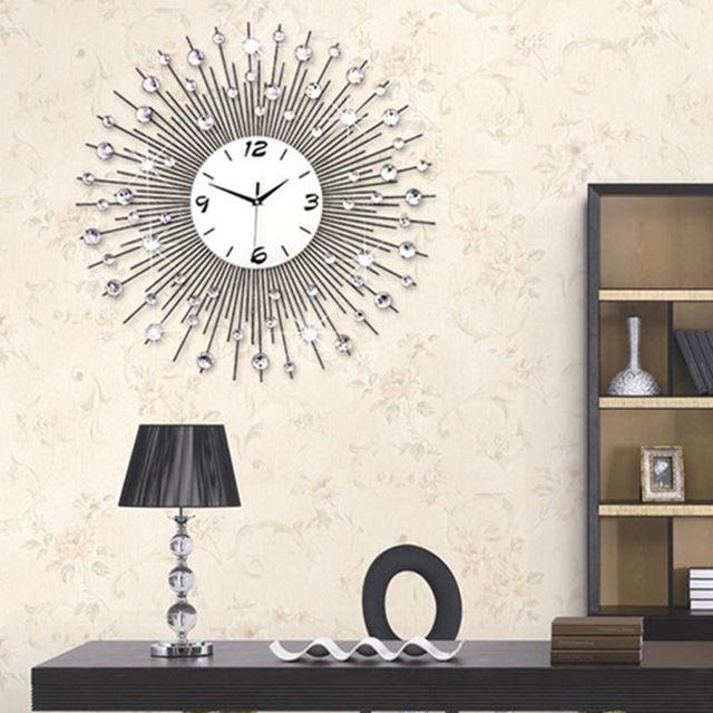 Online Shop 65 CM-75 CM Huishouden Ijzer Wandklok Modern Design ...