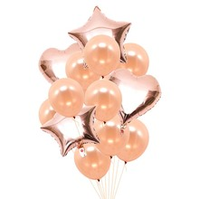 Bridal Shower Gold Silver  Letter Foil Balloons Diamond Ring Balloon for Hen Bacheloratte Party Wedding Decoration