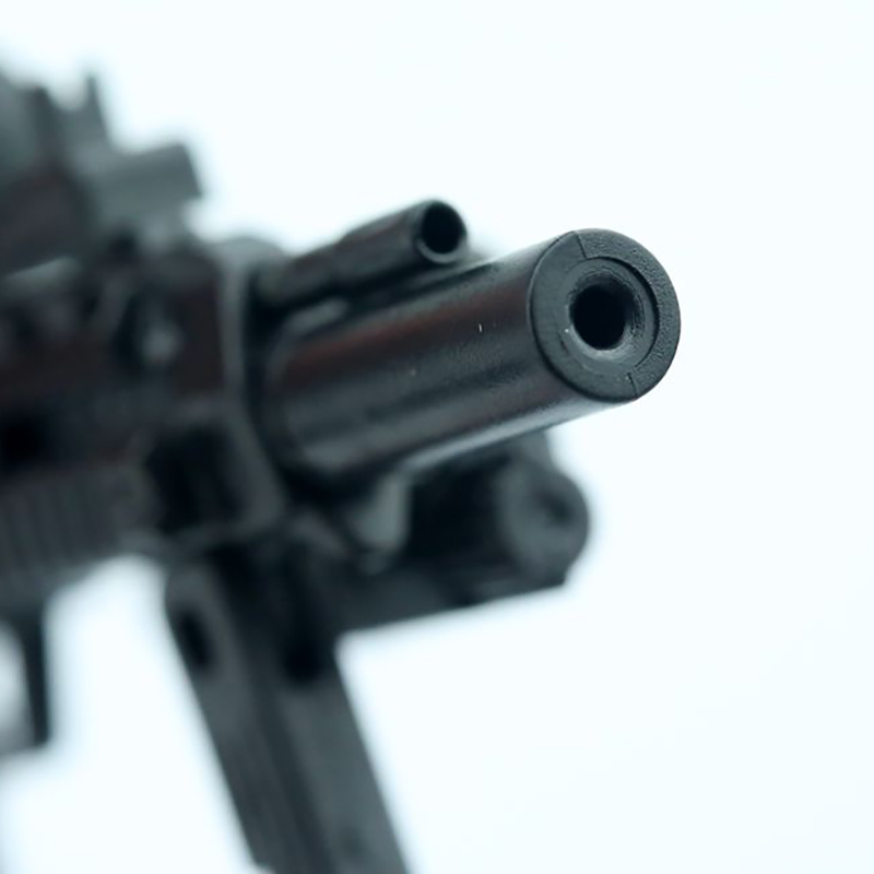 *1//6 Soldier 4D Assembled Puzzle Model German MP7 Gun Dual For 12 Inch Figure