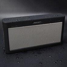 Funda protectora de silicona blanda para Bose SoundLink 3 III, funda de altavoz inalámbrica con Bluetooth, 3 colores opcionales