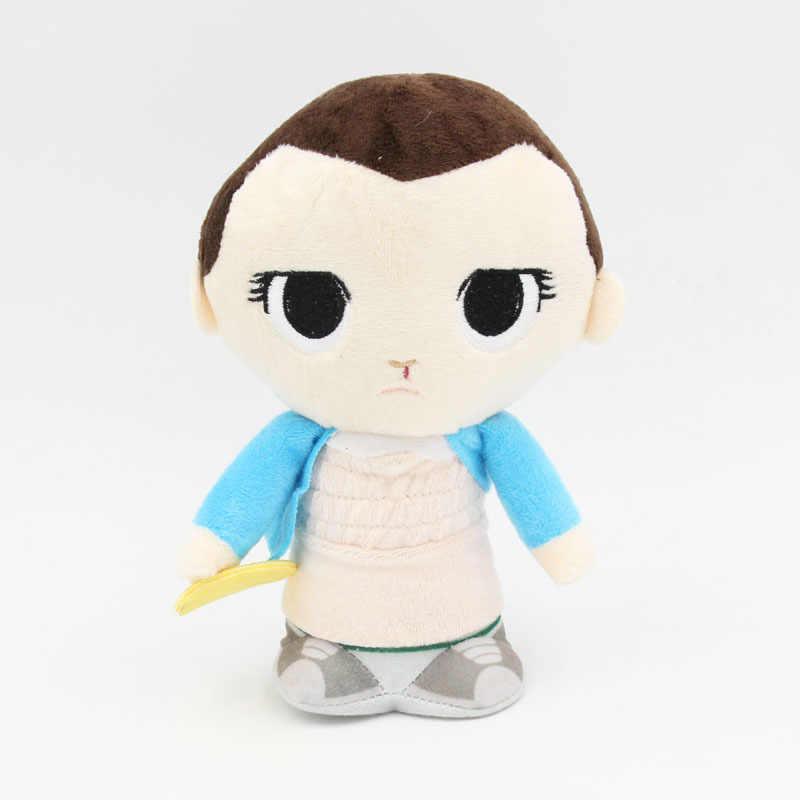 Onze 20 centímetros Coisas Estranhas com Eggo Demogorgon Plush Toy Figura de Ação Collectible Modelo Bonecos de Vinil Chaveiro Presentes Das Crianças